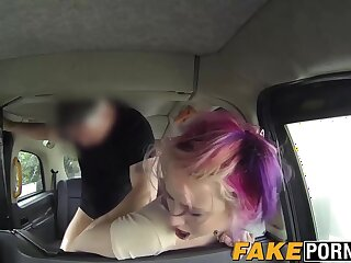 Rebel big tits babe asshole filled up with massive dick
