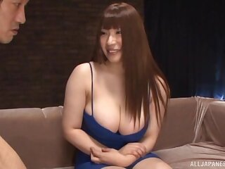 Bizarre girl Saegusa Chitoes gets her pussy and ass poked adjacent to toys