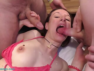 Precedent-setting rough german anal gangbang bandeau with big cock deepthroat loving milf