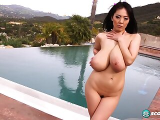 Hitomi Asian Busty Milf Hot Solo