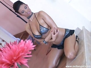 Kinky babe with large unpretentious boobs gets her tight ass fucked